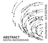 technology background. abstract ... | Shutterstock .eps vector #615182966