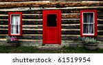 Log Shack In The Canadian...