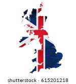 England Map National Flag Icon