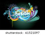 design vector text illustration | Shutterstock .eps vector #61521097
