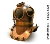 Copper Old Vintage Deeps Sea...