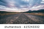 Empty Road At Westfjord As...