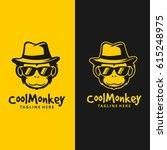 Cool Monkey Logo / Monkey Head Vector