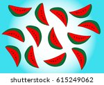 seamless background with... | Shutterstock .eps vector #615249062