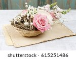 Easter Floral Table Decoration...