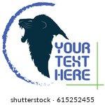 vector lion   Shutterstock .eps vector #615252455