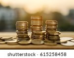 saving money and account... | Shutterstock . vector #615258458