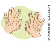 Close Part Of The Body  Pair O...