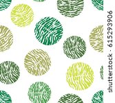 polka dot green vector seamless ...   Shutterstock .eps vector #615293906