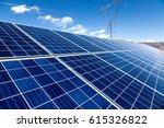 solar energy | Shutterstock . vector #615326822