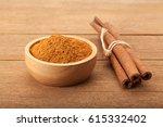 Cinnamon Stick And Cinnamon...