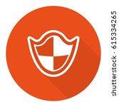 protection icon stock vector...   Shutterstock .eps vector #615334265