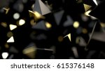 abstract futuristic background... | Shutterstock . vector #615376148