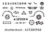 vehicle graphics  stripe  ... | Shutterstock .eps vector #615384968