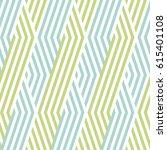 pattern stripe seamless green... | Shutterstock .eps vector #615401108