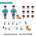 set of colorful isolated vector ... | Shutterstock .eps vector #615419546