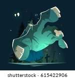 color vector illustration of... | Shutterstock .eps vector #615422906