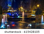 marno pole park  veliko tarnovo ...   Shutterstock . vector #615428105