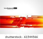 abstract retro technology lines ... | Shutterstock .eps vector #61544566