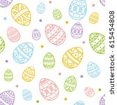 Seamless Background For Easter...