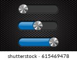 interface slider bar. blue bar...