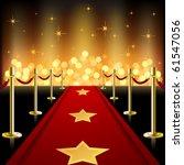 red carpet | Shutterstock .eps vector #61547056