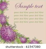 floral background....   Shutterstock .eps vector #61547380