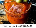 A Close Up Of A Bloody Mary...
