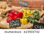 fresh market in tokyo | Shutterstock . vector #615503732