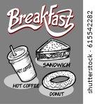 breakfast | Shutterstock .eps vector #615542282