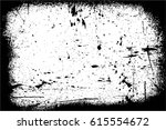 grunge black and white urban... | Shutterstock .eps vector #615554672