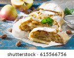 Homemade Apple Strudel With...