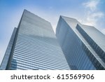 Skyscrapers With Glass Facade....