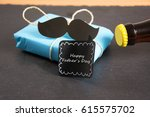 symbol photo for father  s day | Shutterstock . vector #615575702