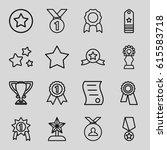 best icons set. set of 16 best...   Shutterstock .eps vector #615583718