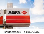 Small photo of Paphos, Cyprus - February 5, 2017: Agfa label outside a store.
