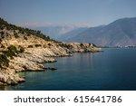 rocks by the sea | Shutterstock . vector #615641786