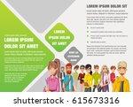 template for advertising...   Shutterstock .eps vector #615673316