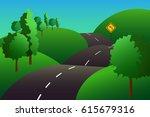 colorful vector illustration... | Shutterstock .eps vector #615679316