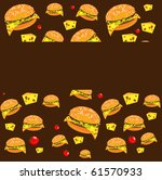 the pattern of fast food | Shutterstock . vector #61570933
