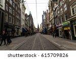 amsterdam  march 17  2017 ...   Shutterstock . vector #615709826