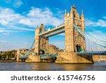 Tower Bridge In London In A...