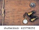 Vintage Compass  Old Pocket...