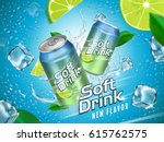 soft drink contained in... | Shutterstock .eps vector #615762575