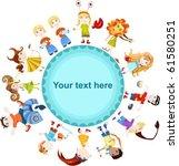 children horoscope | Shutterstock .eps vector #61580251