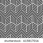 abstract geometric pattern with ... | Shutterstock .eps vector #615817016