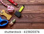 concept pet care and training... | Shutterstock . vector #615820376