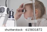 kid ophthalmology   optometrist ... | Shutterstock . vector #615831872