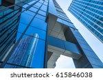 architecture details. modern... | Shutterstock . vector #615846038