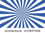 A Dark Blue Sunburst In Vector...